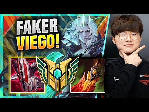 (New) Faker is a god with viego! 🔥perfect game!🔥 - t1 faker plays viego mid vs talon!