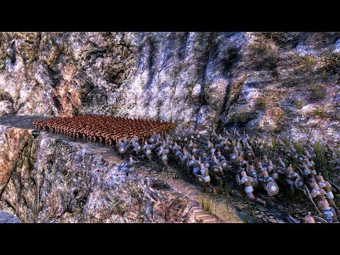 (New) 300 spartans vs 20 000 persians ultimate epic battle simulator