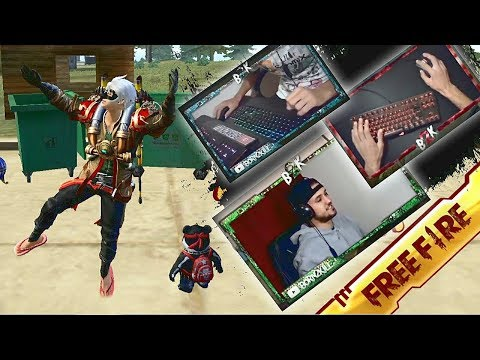 (New) Journey of b2k (face cam to hand cam) free fire