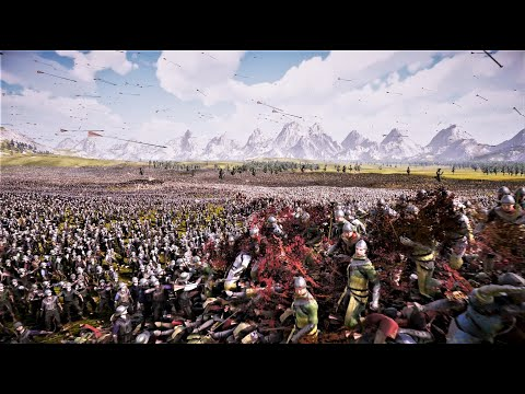 (New) 3 million knights vs 250k archers - ultimate epic battle simulator 2