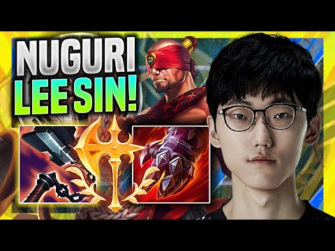 (New) Nuguri tries new meta lee sin top! - fpx nuguri plays lee sin top vs sett! | season 11