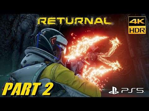 (New) Returnal ps5 4k hdr 60fps boss fight phrike walkthrough gameplay part #2 playstation 5