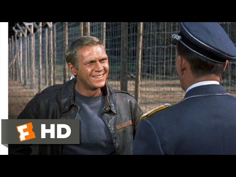(New) The great escape (1 11) movie clip - to cross the wire is death (1963) hd