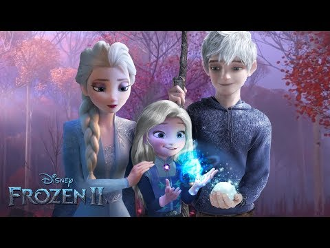 (New) Frozen 2: elsa and jack frost have a daughter! and she has magic too! ❄💙alice edit!