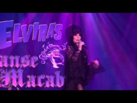(New) Elviras danse macabre 2016 knotts haunt full hd front section first show