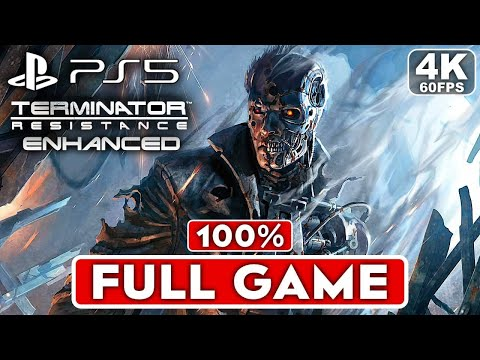 (New) Terminator resistance enhanced ps5 gameplay walkthrough part 1 full game [4k 60fps] - no commentary