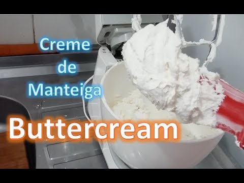 (New) Buttercream #cremedemanteiga