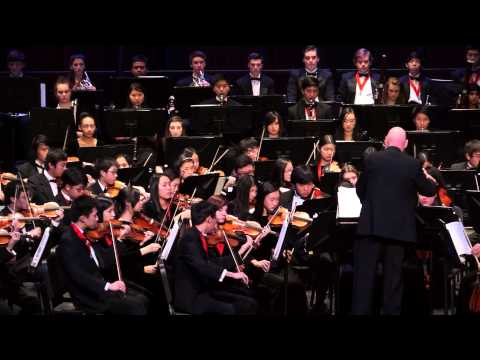 (New) The last of the mohicans, trevor jones - troy symphony orchestra, gala concert, 1 31 15