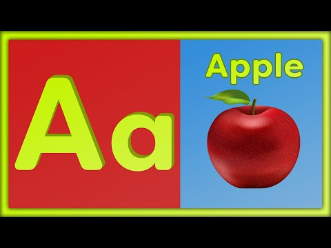 (VFHD Online) Phonics song with two words + abc song | learn the alphabet for kids | a for apple