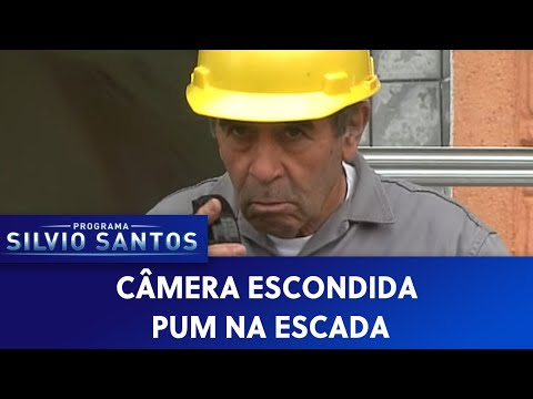 (New) Pum na escada | câmeras escondidas (09 05 21)