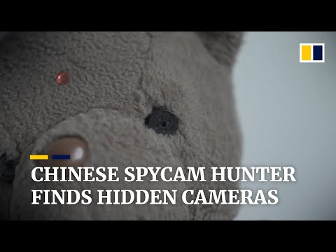 (HD) Spycam hunter in china helps people find hidden cameras in their homes