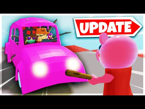(HD) Piggy drivable cars update! [full guide] new update | roblox piggy