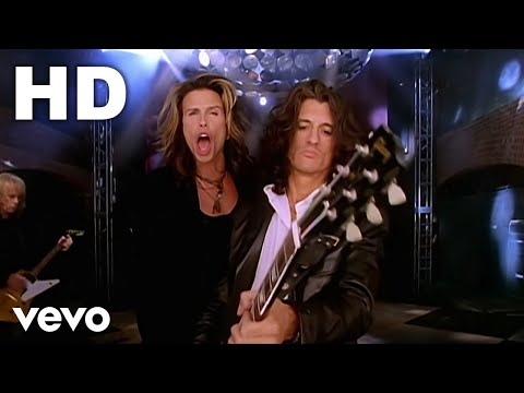 (New) Aerosmith - hole in my soul (official hd video)