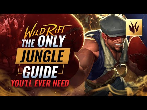 (New) The only jungle guide youll ever need - wild rift (lol mobile)
