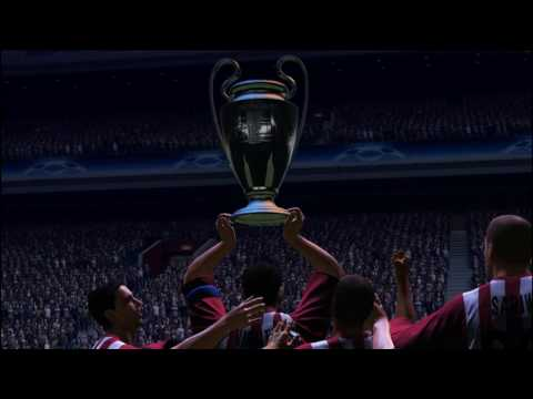(New) Pes 2009 uefa champions league trailer