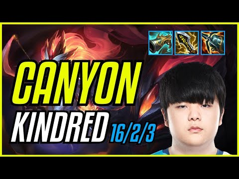 (New) Canyon - kindred - euw master - patch 11.9