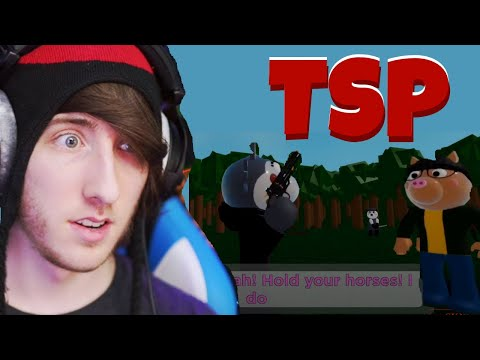 (HD) Kreekcraft reacts to piggy 2: chapter 2 ending | t.s.p. revealed