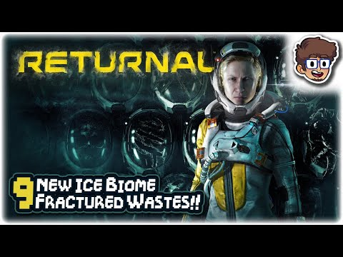 (New) Fractured wastes, new ice zone!! | lets play returnal | part 9 | ps5 gameplay