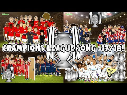 (New) 🏆champions league 17 18 - the song🏆 (442oons preview intro parody)