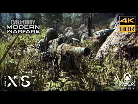 (New) Call of duty: modern warfare 4k hdr highway of death realism gameplay part #8 xbox series x s