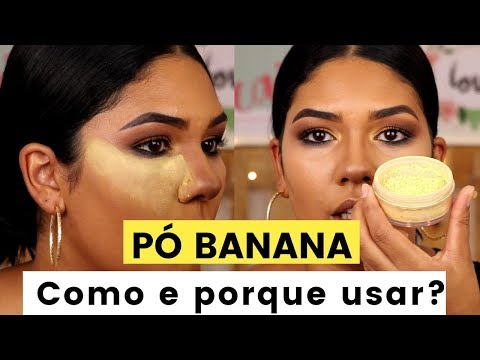 (HD) Para que serve o pó banana? como usar pó banana?