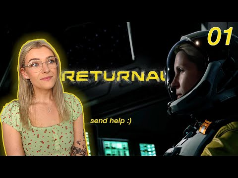 (New) Returnal ps5 part 1 | atropos is relentless 👩🏻‍🚀 | emma plays