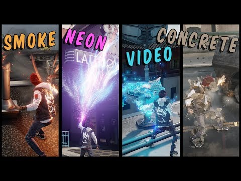 (New) Infamous: second son - comprehensive powers overview!