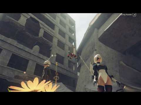 (New) 2b reacts to my lewd attempt to ss her ass