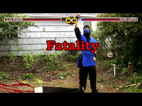 (Ver Filmes) Real mortal kombat - video game flaws (mk parody)