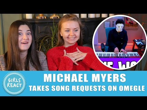 (Ver Filmes) Girls react - michael myers takes song requests on omegle... reaction