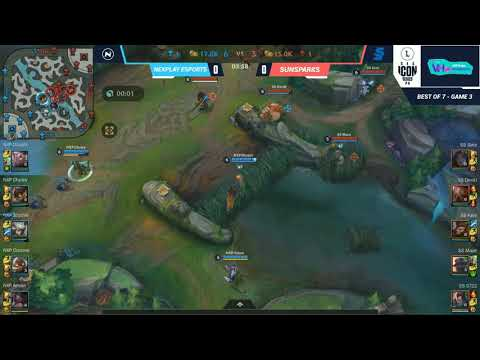 (VFHD Online) Wild rift sea icon series philippines: preseason day 2 | grand finals | nexplay vs sunsparks game 1
