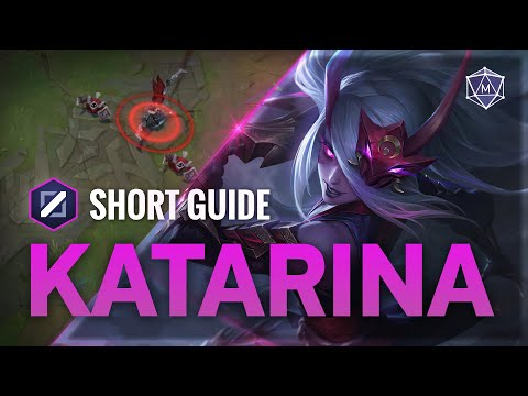 (New) 4 minute guide to katarina mid | mobalytics short guides