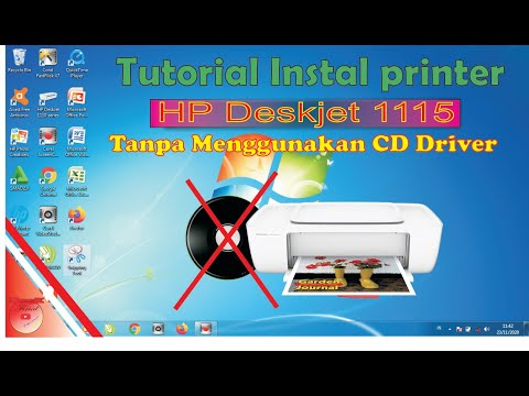 New Cara Instal Printer Hp Ke Laptop Tanpa Cd Driver
