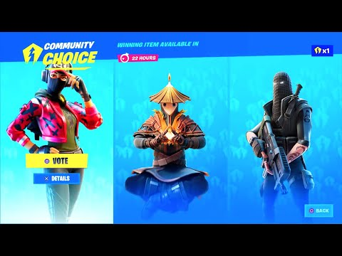 (VFHD Online) Fortnite deleted item shop community choice..!