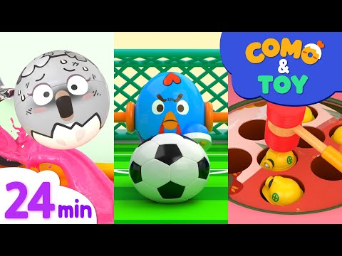(VFHD Online) Como | color paint mixing + more episode 24min | learn colors and words | como kids tv