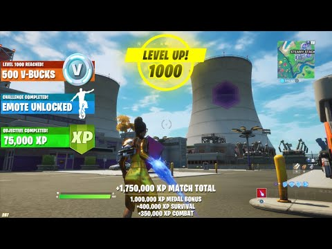 (New) How to level up fast in fortnite! (xp)