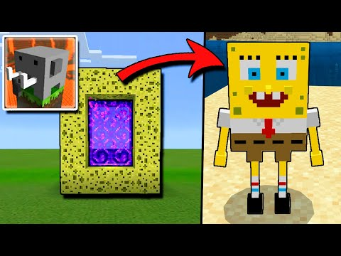 (VFHD Online) How to make a portal to the spongebob squarepants in craftsman: building craft