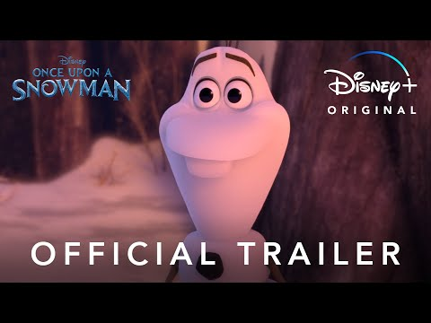 (New) Once upon a snowman | official trailer | disney+