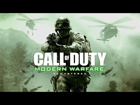 (New) Call of duty 4 modern warfare remastered - game movie