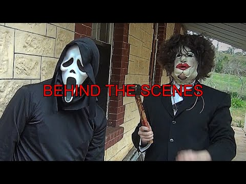 (Ver Filmes) Ghostface vs leatherface | behind the scenes |