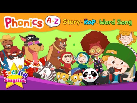 (VFHD Online) English phonics series collection | a to z for children |