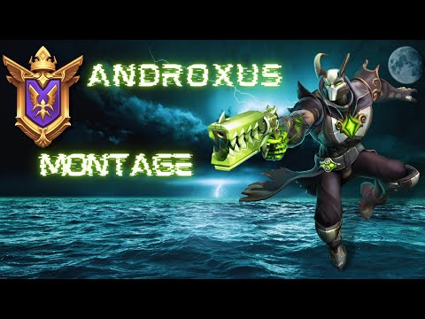 (New) Paladins - androxus montage (feat. take it down)
