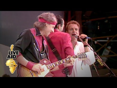(New) Dire straits   sting - money for nothing (live aid 1985)