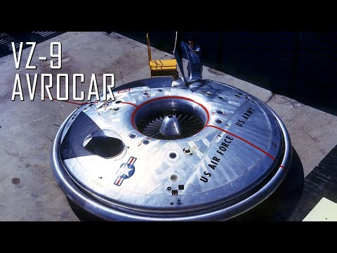 (New) Avro canada vz-9 avrocar; canadas almost functional flying saucer