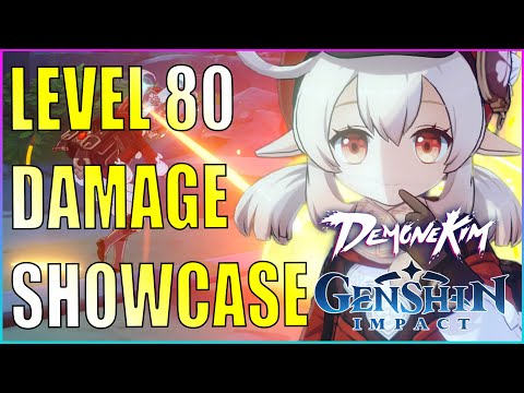 (New) Level 80 klee damage (0 constellation) - genshin impact