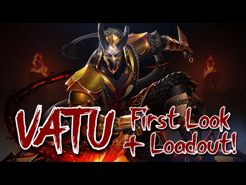 (New) New champion vatu! - first look e loadout guide!