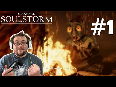 (New) #1 the escaped mudokens have been found! - oddworld: soulstorm