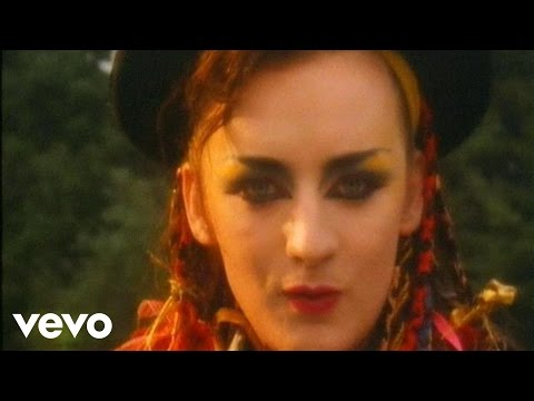 (HD) Culture club - karma chameleon (official music video)