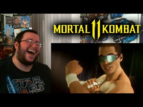 (New) Gors mortal kombat 11 johnny cage new intro dialogues reaction