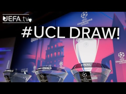 (New) 2020 21 uefa champions league quarter-final and semi-final draw